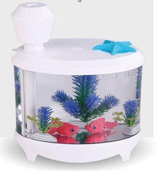 USB della famiglia mini umidificatore atomizzatore creativo pesce aria fresca serbatoio spruzzatore , white , 145mm*125mm*86mm