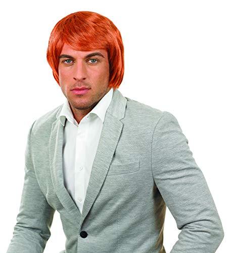 Fun Shack La Perruque Perruque De Boys Band Orange pour Hommes et Femmes de Une Taille Unique