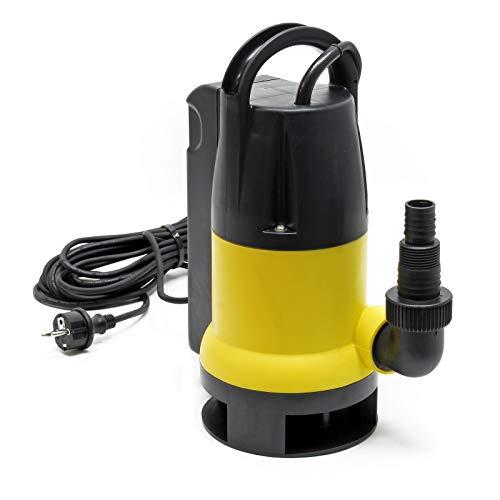 Schmutzwasserpumpe 8000 l/h 400 W, max. Förderhöhe 5 m, Fremdkörper bis Ø 35 mm