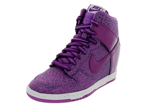 Tênis Nike Wmns Dunk Sky High Txt Purple Sneaker (40)