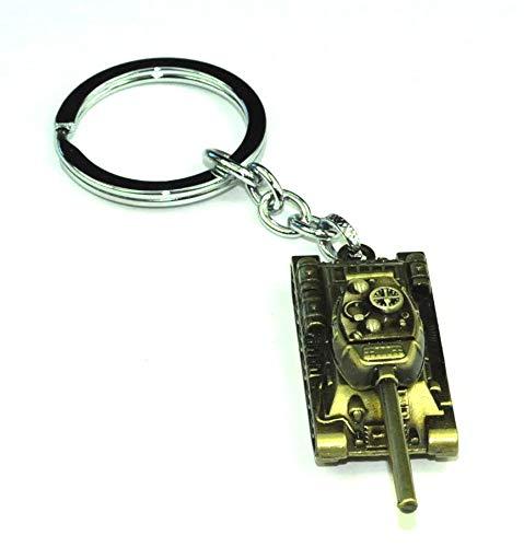 Llavero Tanque de Combate   Para Guardar y Tener recogidas las Llaves   Porta llaves Original y Práctico   Organizador de llaves Compacto