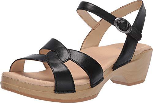 Dansko Women's Karmen Black Sandals 6.5-7 M US