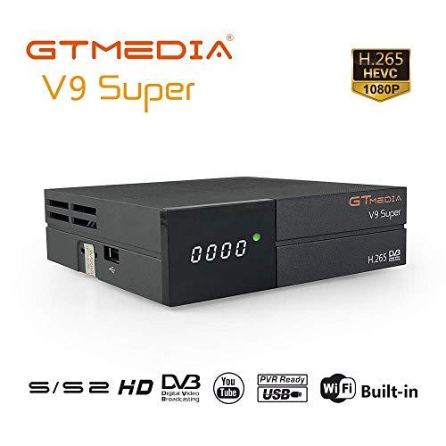 GT MEDIA V9 Super DVB-S2 Decodificador Satélite Receptor