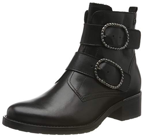 Tamaris Damen 1-1-25047-23 Biker Boots, Schwarz (Black 1), 42 EU