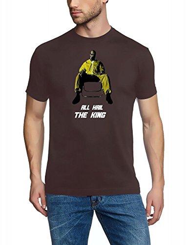 ALL HAIL THE KING - Breaking Bad - Heisenberg T-Shirt Braun Gr.XXL