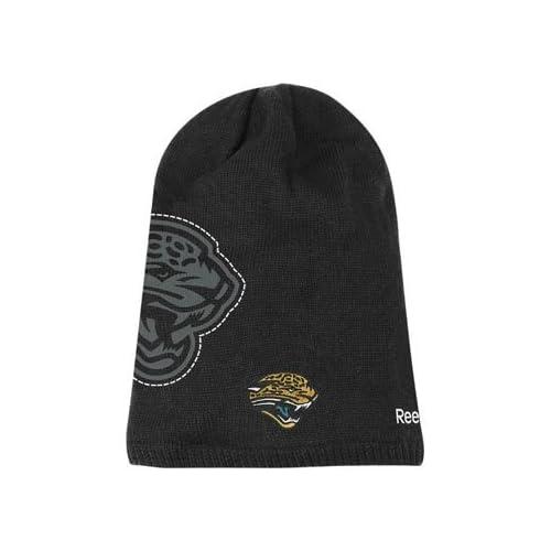 Jacksonville Jaguars Reebok 2010 Player Sideline Cuffless Long Knit Hat 8ec894801