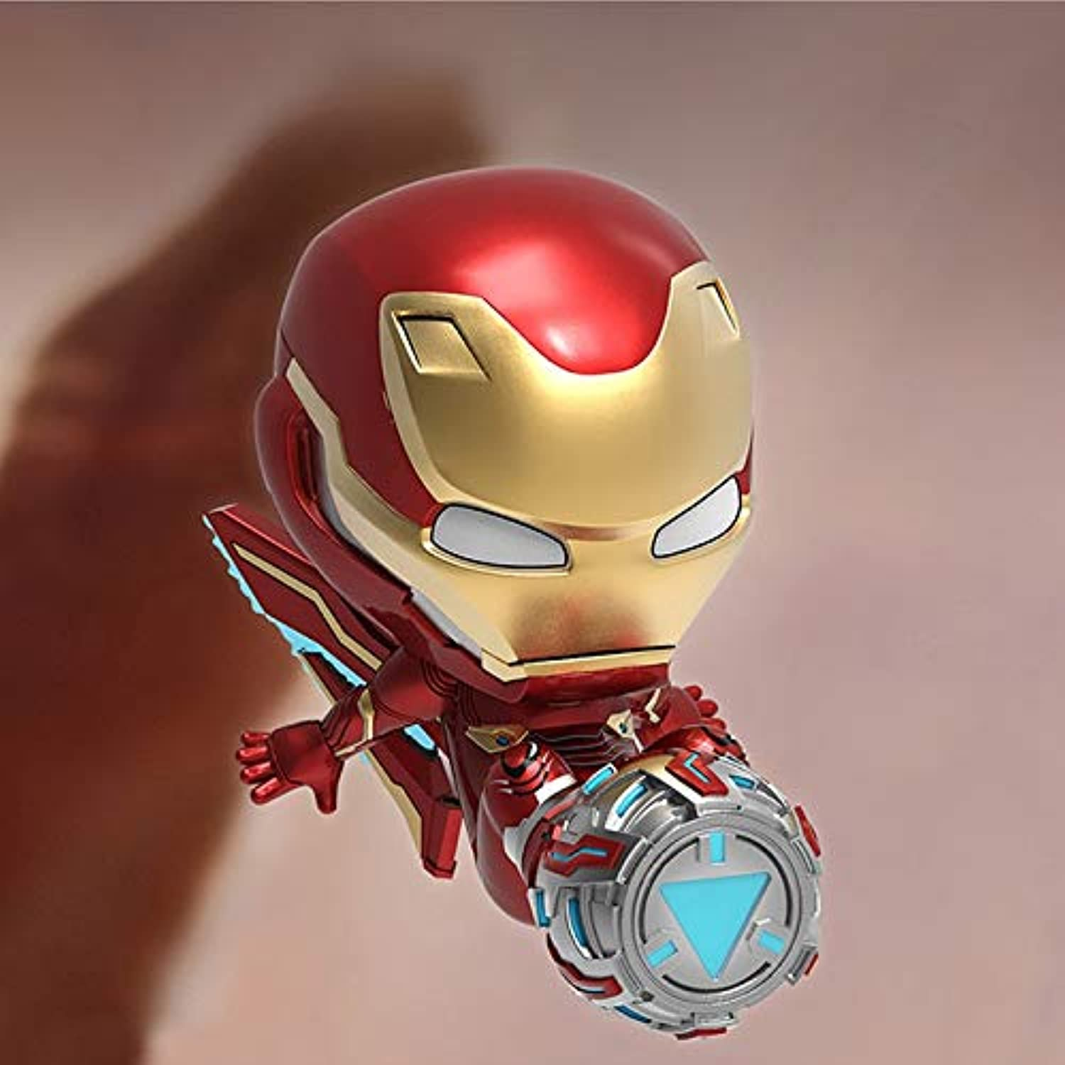RMJAI Iron Man Toy Model Toy Doll Crafts Collection (9cm) Model Toys (color    4)