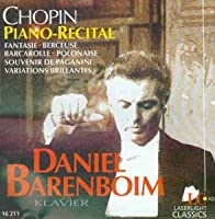 Piano Works : Barenboim