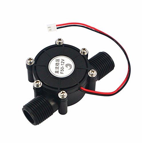 Micro generador de agua, 10 W, DC Micro-Hydro herramienta de carga de agua 80 V/12 V/5 V