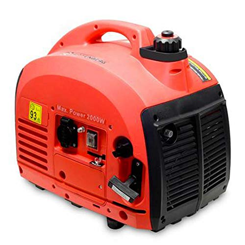 KRAFT MULLER 50% generatore Inverter 220V silenziato a Benzina 2 KW