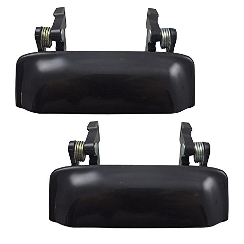 Outside Exterior Door Handles Pair Set Front Replacements for 1993-2011 Ford...