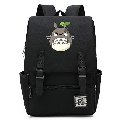 Teenager College Schule Rucksack, Totoro Casual Rucksack, Casual Travel Wanderrucksack, passt 15