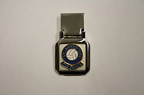 Awesome Gifts Football club money clip – St Johnstone