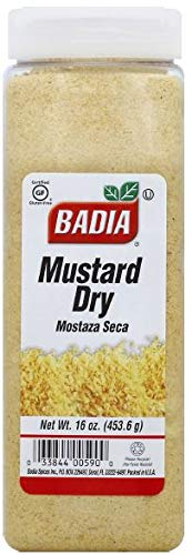 Badia Mustard Dry, 16 Ounce (Pack of 6)