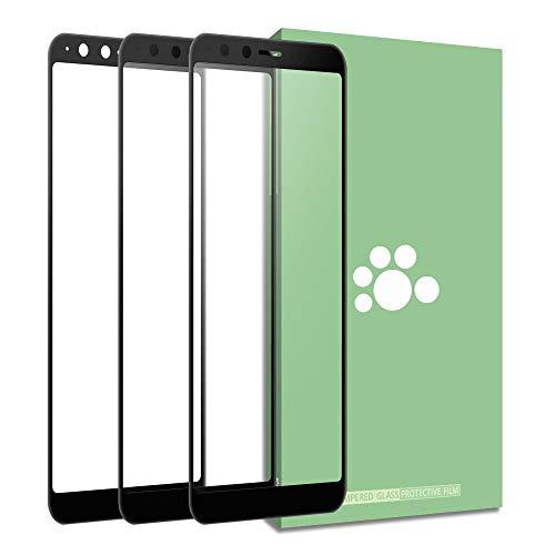 Asus ZenFone 5Q ZC600KL Bildschirmschutzfolie aus Glas, transparent, Anti-Fingerprin, kratzfest, ultradünn, 9H volle Abdeckung, seidenbedruckt, gehärtete für 5 Lite 2018/ZenFone