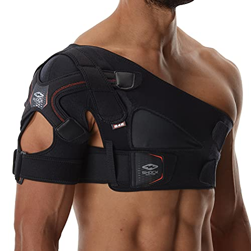 Shock Doctor Shoulder Support Brace for Men, Prevents & Promotes Healing from AC Sprains, Rotator...