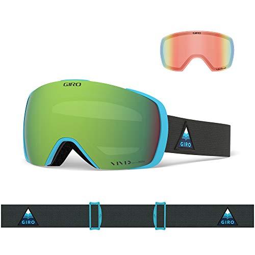 Giro Masque de Ski Contact, Iceberg Arrow Moutain Vivid emember/Vivid Infrarouge, Taille Unique