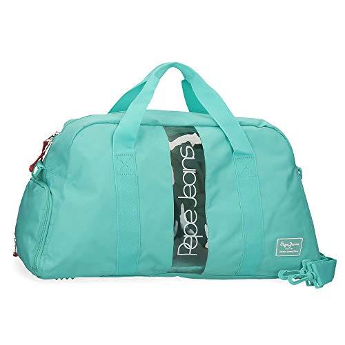 Bolsa de Viaje Pepe Jeans Darienne, Verde, 55x30x22 cms