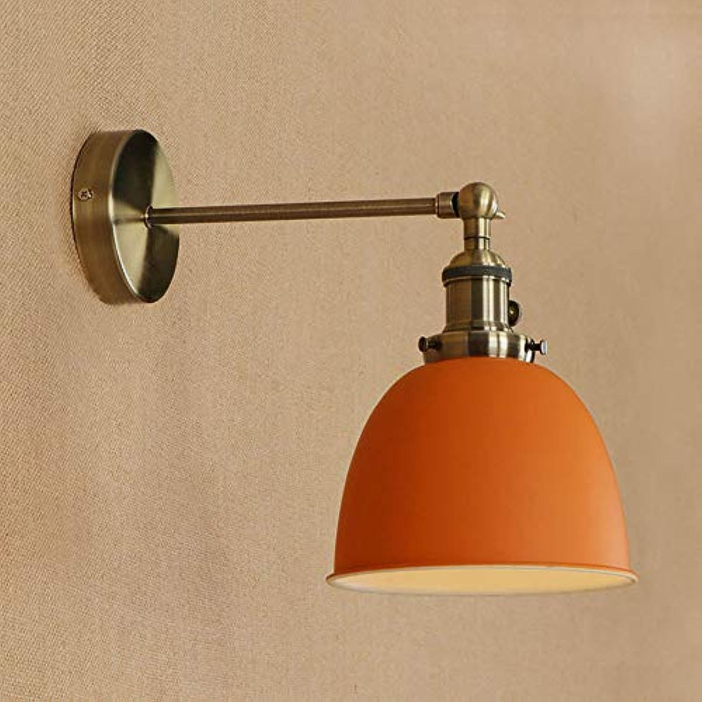 Wqaabb Einfache Retro-Wandleuchte Hhenverstellbar Schlafzimmer Nachtlicht Spannung 110-220V