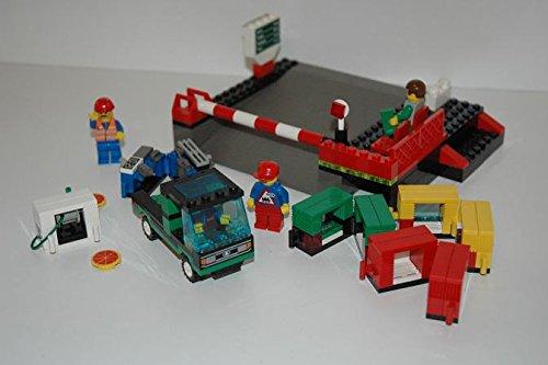 Gebrauchte Bausteine Ersatz für Lego System Lego 9V + RC Eisenbahn Train 4560 Laderampe + Zubeör Loading Station KOMPATIBEL MIT Lego 9V + RC System