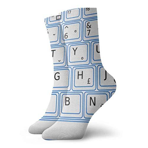 zhouyongz Calcetines de cojín Vintage para niños, Adolescentes, Hombres, Mujeres, Trabajo, Deportes, Yoga