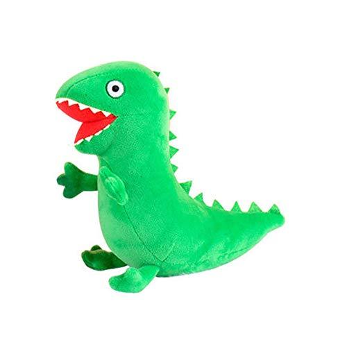YaptheS Juguete de Peluche Relleno Lindo Dinosaurio de los Animales de Peluche de Juguete súper Blando de la muñeca para Niños Niñas Decoración Verde