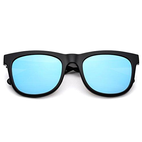 SXZHSM HD gepolariseerde zonnebril Retro Hipster mannen en vrouwen Rechthoekige zonnebril Zonnebril