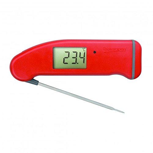 ETI 234-447 Thermapen Professional, patentiertes Automatikdisplay mit 360°-Rotationsanzeige, rot