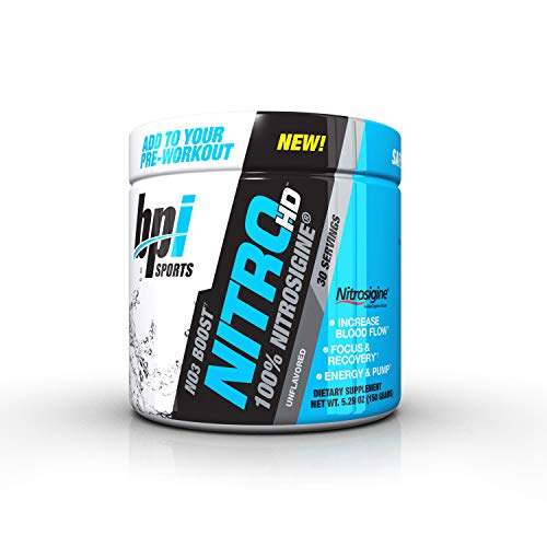 BPI Nitro HD 30 Servings Unflavored, 150 g