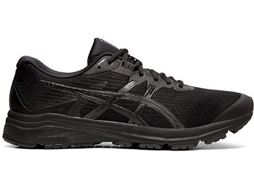 ASICS Men's GT-1000 8 Shoes, 10M, Black/Black