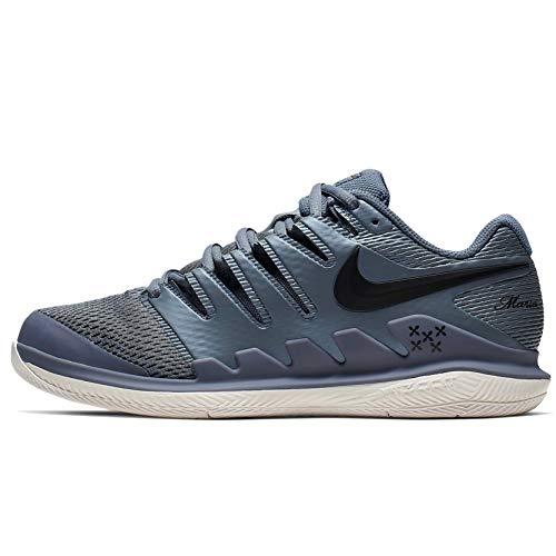 Nike Wmns Air Zoom Vapor X HC, Scarpe da Tennis Donna, Multicolore (Bordeaux/Phantom/White/Orange Blaze 601), 38 EU
