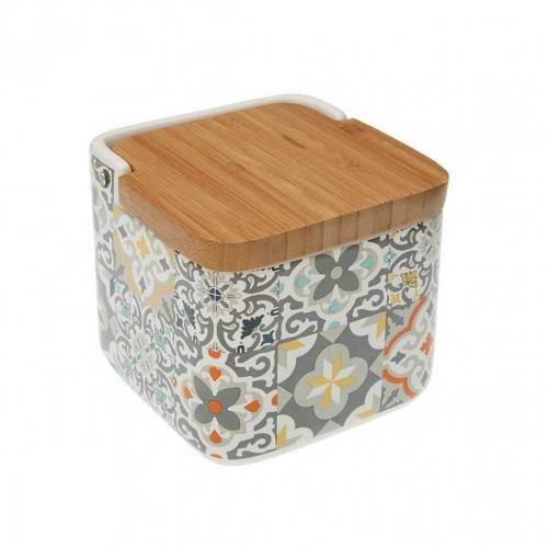 REGALA FELIZ SALERO Ceramica ALFAMA 11,7X11,8X11,2 CMS