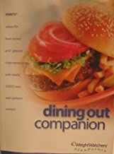 Weightwatchers Flex Points Dining Out Companion