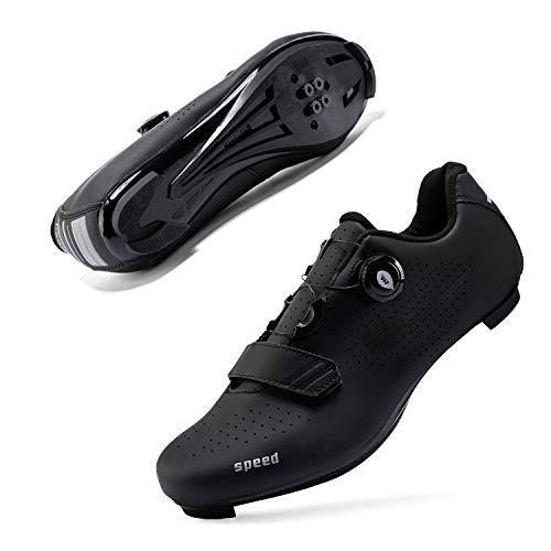 Mens or Womens Road Bike Cycling Shoes Peloton Bike Shoes...