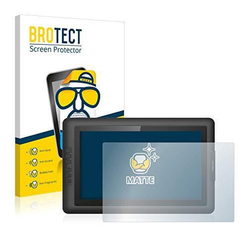 BROTECT Entspiegelungs-Schutzfolie kompatibel mit XP-Pen Artist 15.6 Displayschutz-Folie Matt, Anti-Reflex, Anti-Fingerprint