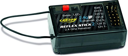 Carson 500501537 - Empfänger 6 Kanal 2.4 GHz