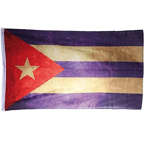 KUBA Fahne Vintage Retro Flagge Cuba Libre 90 x 150 cm Shabby Style