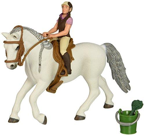SCHLEICH SLH41433X SLH41433X-Reiten auf Lipizzaner Mare Spielzeug