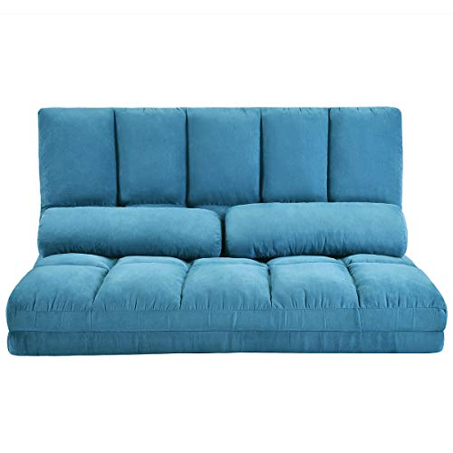 Adjustable Floor Couch and Sofa for Living Room and Bedroom,...
