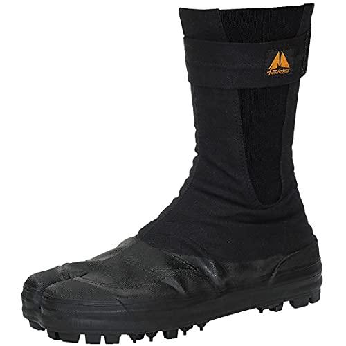 [荘快堂] ツインフーブス スパイク足袋 作業靴 安全靴 ハイカット 安全シューズ スパイク 黒 ブラック 山作業 森林作業 男性 メンズ 女性 レディース 靴 シューズ(ブラック_101F 29.0cm)