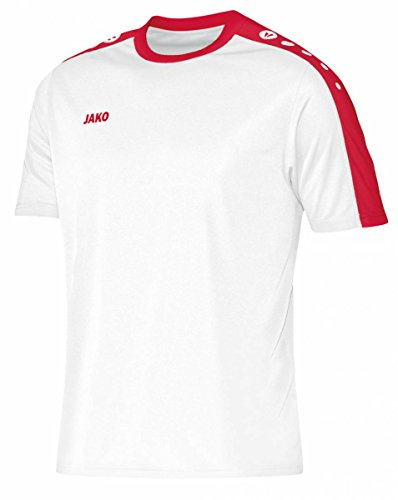 JAKO Maillot Striker kA S Multicolore - Blanc/Rouge
