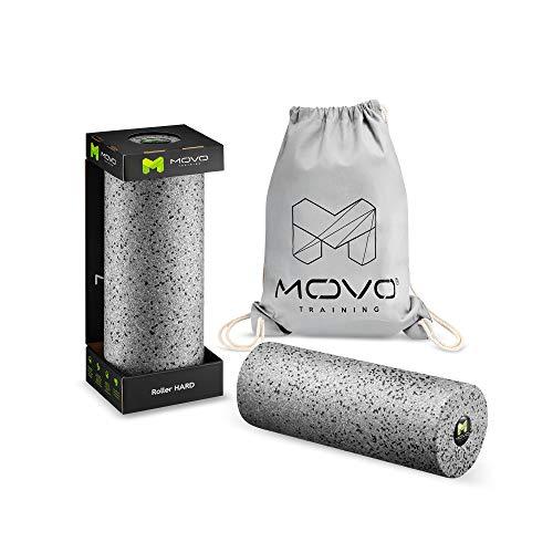 MOVO Fitness Faszienrolle | 35 x 13 cm | Foam-Roller Training | Massagerolle | Gymnastikrolle | Faszientraining | Regeneration und Stärkung der Muskeln | Prävention von Verletzungen