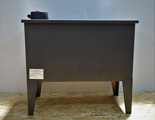 Estufa de leña, horno de cocina de combustible sólido, 7,5 kw