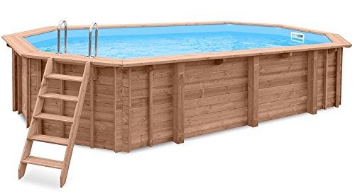 Piscina de jardín Ocean Wave para empotrar en suelo o para colocar sobre...