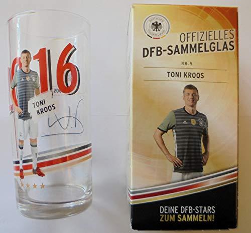 DFB Offizielles Sammelglas Fussball EM 2016 Rewe OVP Toni Kroos