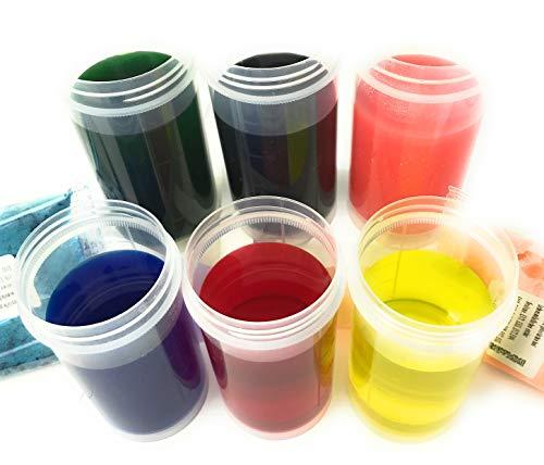 Lebensmittelfarbe Pulverfarben SET 6 x 10 gr wasserlöslich