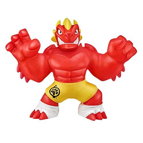 Fovely Heroes of GOO JIT Zu Puppe, Power Actionfiguren Elastic Toys Dekomprimieren Sie Vent Toys Lustiges Quetschspielzeug für Kinder