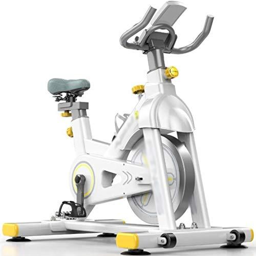 YHRJ Bicicleta de Ejercicio Pedal Spinning Spinning Bicicleta,Bicicleta de Ciclo de la pérdida de Peso del Gimnasio,Equipamiento Deportivo Regulable,Puede soportar 150 kg