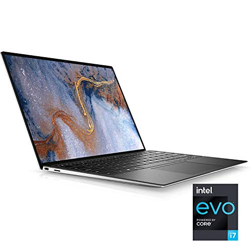 Product Image 5: Dell XPS 13 (9310), 13.4- inch FHD+ Touch Laptop – Intel Core i7-1185G7, 16GB 4267MHz LPDDR4x RAM, 512GB SSD, Iris Xe Graphics, Windows 10 Pro – Platinum Silver with Black Palmrest (Latest Model)