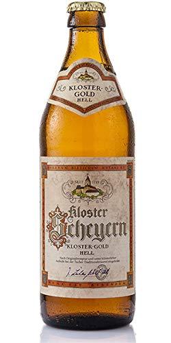 Birra Bavarese Bionda - Kloster Scheyern Gold Hell – Cassa da 20 Bottiglie da 0,5 L.